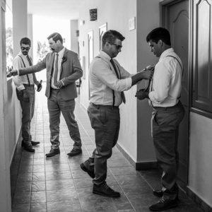 Cancun Wedding Photo Studio Getting Ready