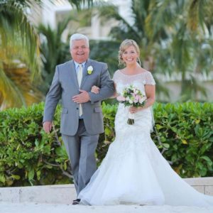 hotel beloved playa mujeres wedding ceremony photos