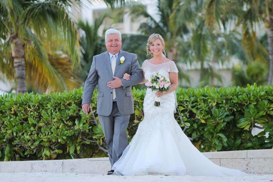 hotel beloved playa mujeres wedding ceremony photos