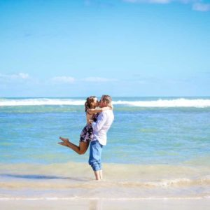 lifestyle photography session in excellence punta cana beach