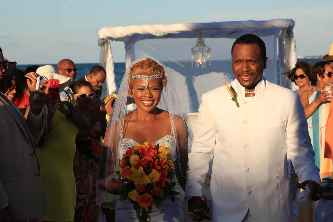 wedding ceremony photography in excellence playa mujeres10