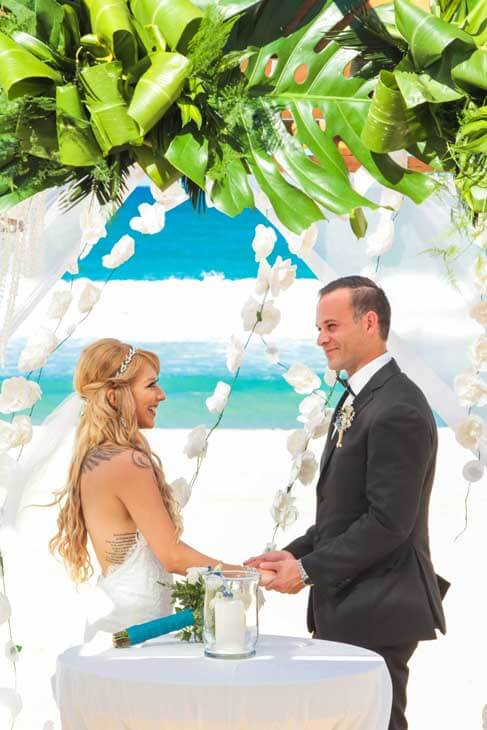 wedding ceremony photography in excellence punta cana45