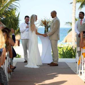 wedding ceremony photography in finest playa mujeres3