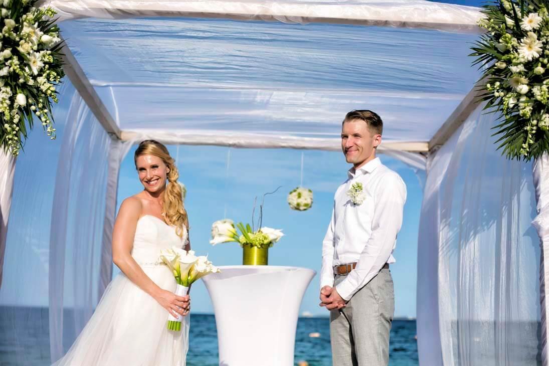 wedding ceremony photos in mexico