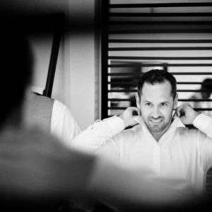 wedding photography getting ready groom excellence el carmen
