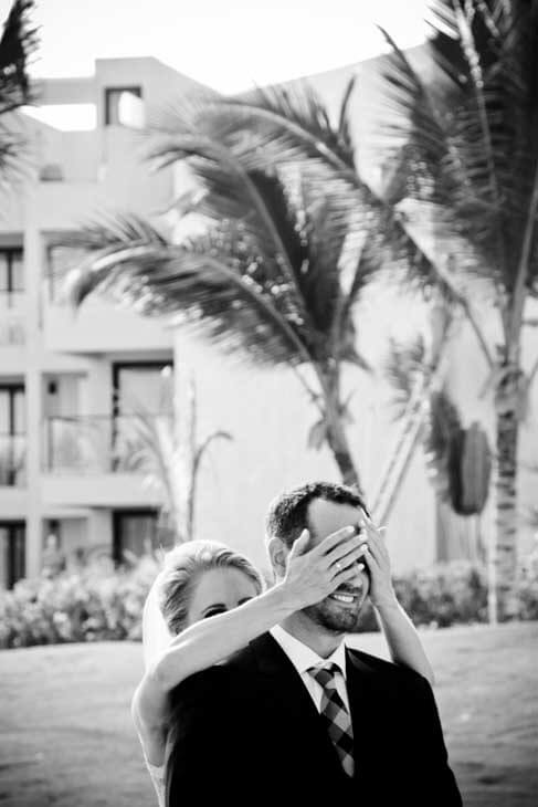 wedding photography session in hotel excellence el carmen mexico