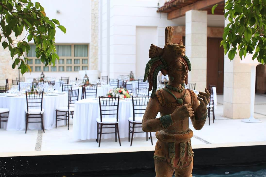 wedding reception photography in excellence playa mujeres13