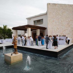 wedding reception photography in excellence playa mujeres9
