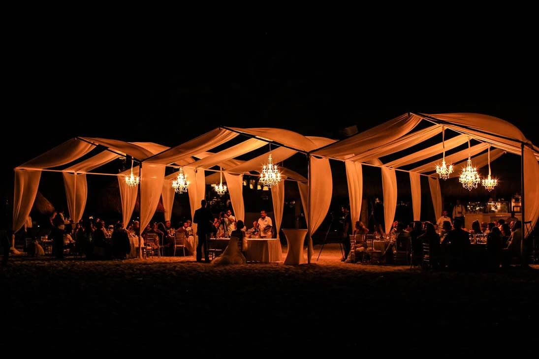 wedding reception photography in finest playa mujeres2