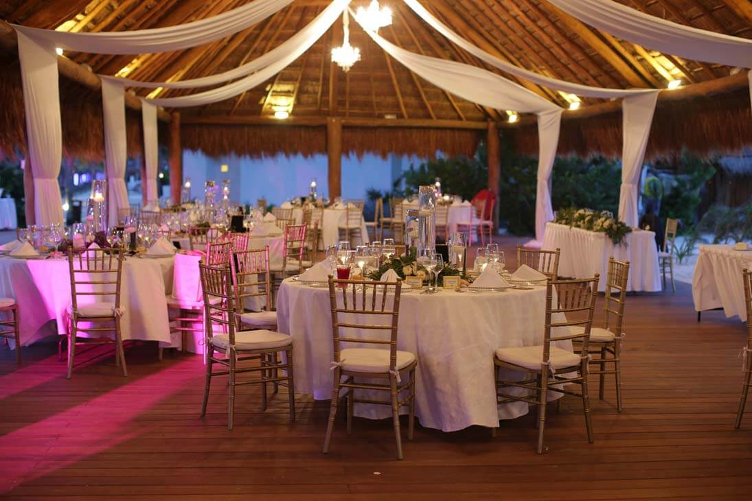 wedding reception photography in finest playa mujeres5