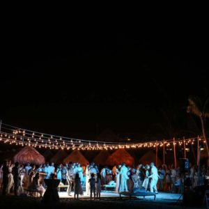 wedding reception photography in finest playa mujeres8