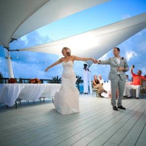 wedding reception photography in finest playa mujeres9