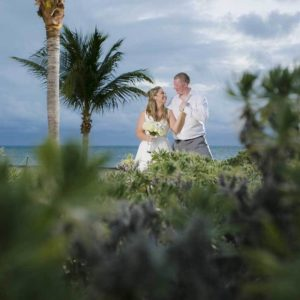 wedding session photography in beach cancun