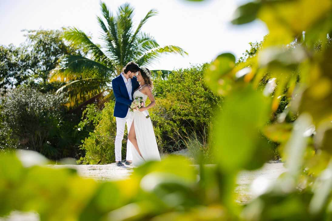 wedding session photography in beloved playa mujeres