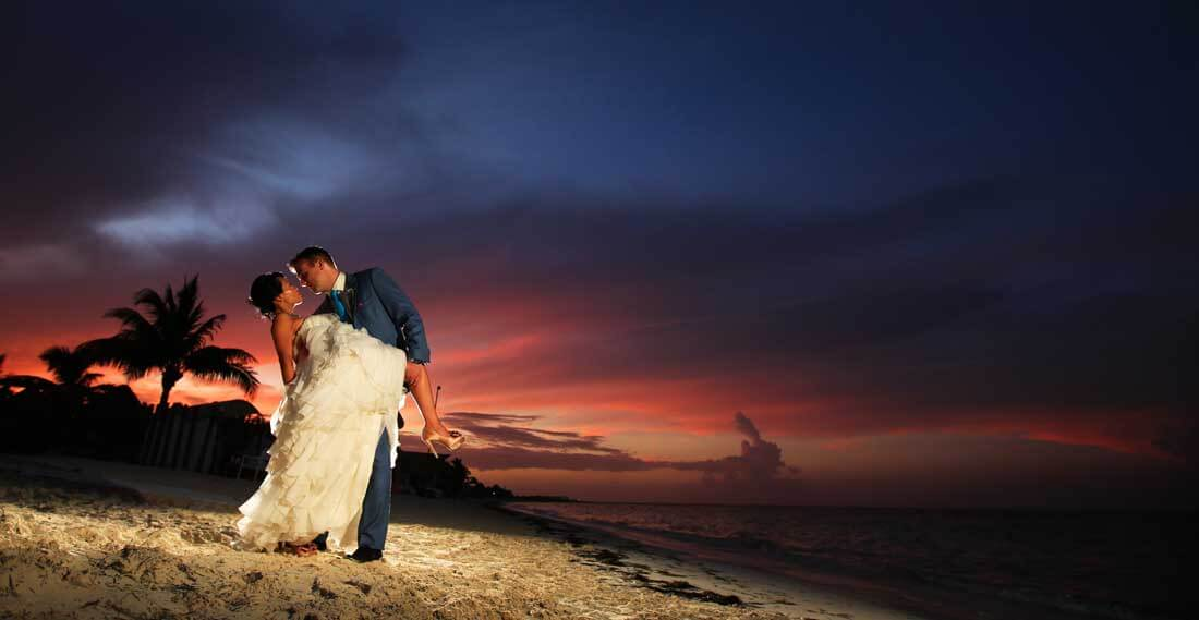wedding session photography in cancun mexico